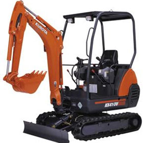 Earthmoving Hire | Kubota Kx41 3v