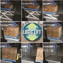 Logic Lift® scissor lifts comes complete with load recognition system