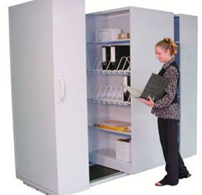 Mobile Shelving Cabinets