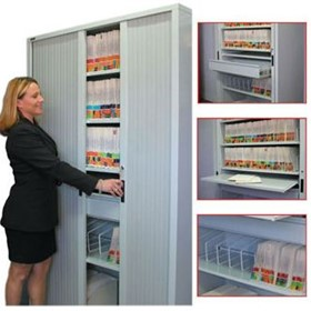 Lateral Filing Equipment - Tambour Door Cabinets