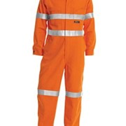 Hi Vis | Lightweight Coveralls | Reflective Tape