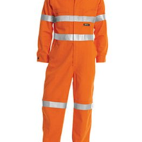 Hi Vis | Lightweight Coveralls | 3M Reflective Tape