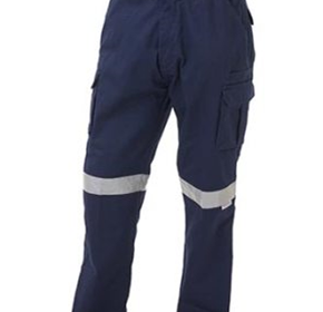Bisley Workwear | 8 Pocket Cargo Pant | 3M Reflective Tape