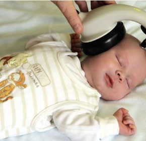 Newborn Hearing AABR Screener | Maico MB11 BERAphone