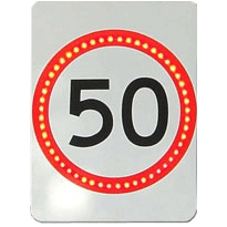 Flashing Speed Sign | AD305