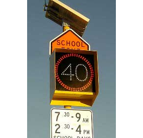 Flashing School Zone Signs | AD305-FSZS