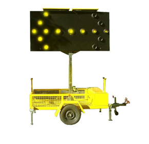 Arrow Sign - Transportable LED | AD304