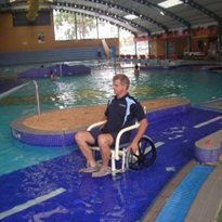 Pool Wheelchair