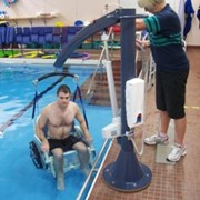 Pool & Spa Access Patient Hoist | PELICAN