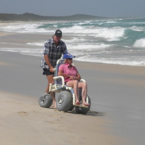 Beach/All Terrain Wheelchair