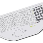 Medical Keyboard with Touchpad | Wetkeys Keywi CleanBoard