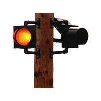 Remote-Activated Solar LED Flashing Beacon | Model R838
