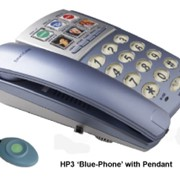 Emergency Call System | Blue Phone with Pendant