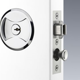 Symmetry Cavity Sliding Door Lock