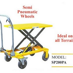 Scissor Lift Trolley | Foot Operated | 200Kg