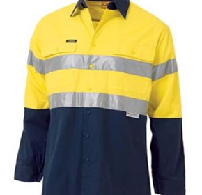Bisley Workwear | 2-Tone Cool Lightweight Drill Shirt