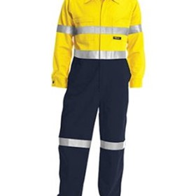 High Vis Work Wear | Bisley Cotton 2-Tone Lightweight Overalls