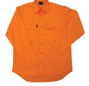 High Vis Work Wear | King Gee Workcool Drill Shirt