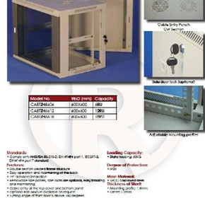 Swing Wall Mount Cabinet - ZH Series