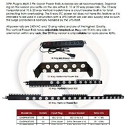 Vertical Power Rail - 20 Way