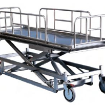 Mortuary Lifter Concealment Trolley | Rapini R7300