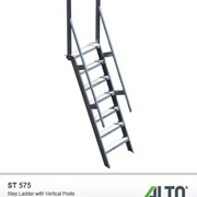 Modular & Step Ladder Systems - Access Hatches, Stairs & Platforms