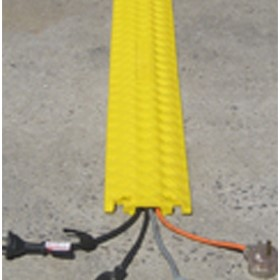 Yellow Poly Dropover Ramp - Cs-03i