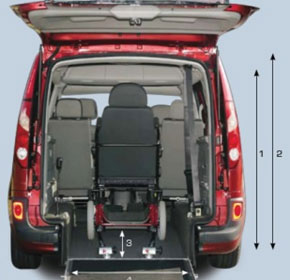 Wheelchair Accessible Vehicle - Renault Kangoo