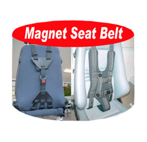 Harness - Carfix Unisafety Magnet Seat Belt