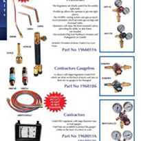 Acetylene Kits Contractors (Side Entry Oxy)