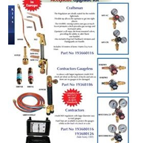Acetylene Upgrade Kits Craftsman