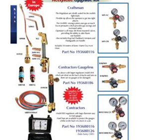 Acetylene Upgrade Kits Contractors (Side Entry Oxy)