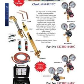 Acetylene Compatible Kits Classic Kit - B/W/H/C (Side Entry Oxy)