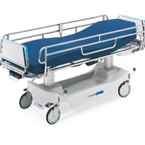 Electric Powered Bariatric Stretcher | Hausted® Horizon 4D2DPA