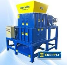 Four-Shafts Vegetable Shredder/Oil Filter Shredder Recycling Line