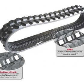 Rubber Tracks | Anti-Vibration | Voortraka AVRT Series