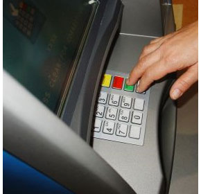 Will removal of immediate ATM access influence gambling habits?