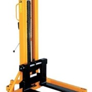 Fork Stacker | Straddle Manual Hydraulic
