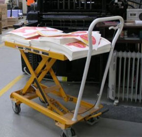 Table Lifter | Foot Operated, Single Scissored