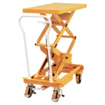 Manual Double Scissor Lift Table Range