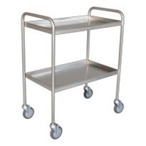 Tray Clearing Trolley | 2 Shelf TCT 402SS