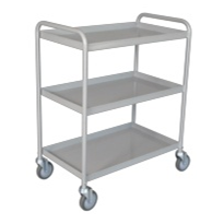 Tray Clearing Trolley - 3 Shelf TCT 403