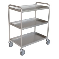 Tray Clearing Trolley | 3 Shelf TCT 403SS