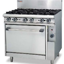 Commercial Gas Cooking Range | Trueheat
