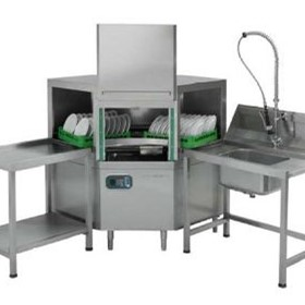 Conveyor Dishwashers | Rack System | Comenda Linea ACL