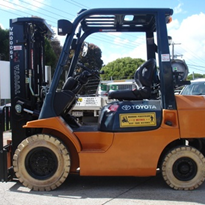 Rent a LPG Container Forklift | Toyota 7FG25
