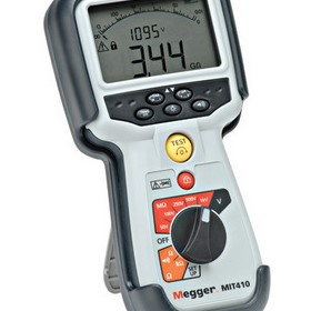 Industrial Insulation Testers - Megger MIT400 Series