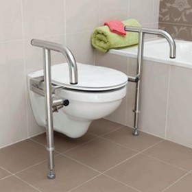 Bariatric Toilet Support Rail | The Throne