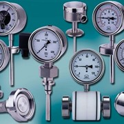 Homogeniser, In Line, Sanitary Pressure or Temperature Gauges
