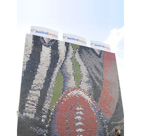 AFL tribute mural unveiled